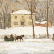 James Wilson Morrice - La vieille maison Holton à Montréal