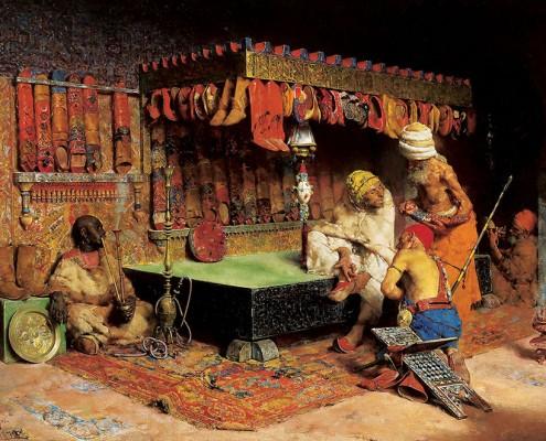 "José Villegas Cordero, ""The Slipper Merchant"", 1872"