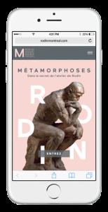 Rodin Mobile Site