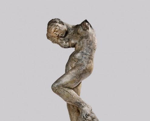 Auguste Rodin, La Méditation (détail), petit modèle
