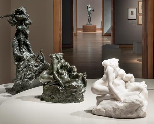 Deux étés Rodin : 1998 au Musée du Québec et 2015 au MBAM