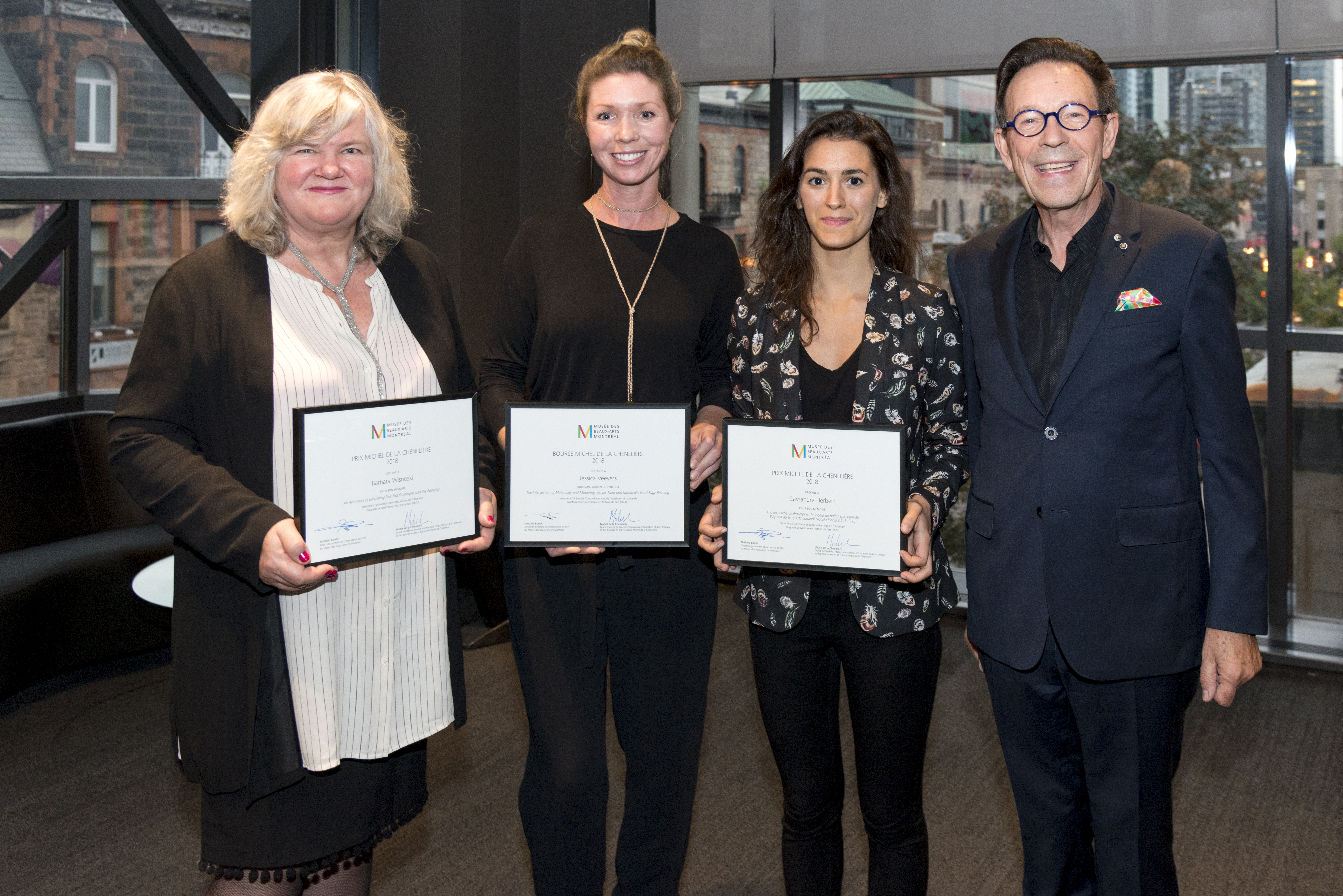 noel des chats 2018 montreal Three Montreal University Students Honoured by the MMFA's Michel  noel des chats 2018 montreal