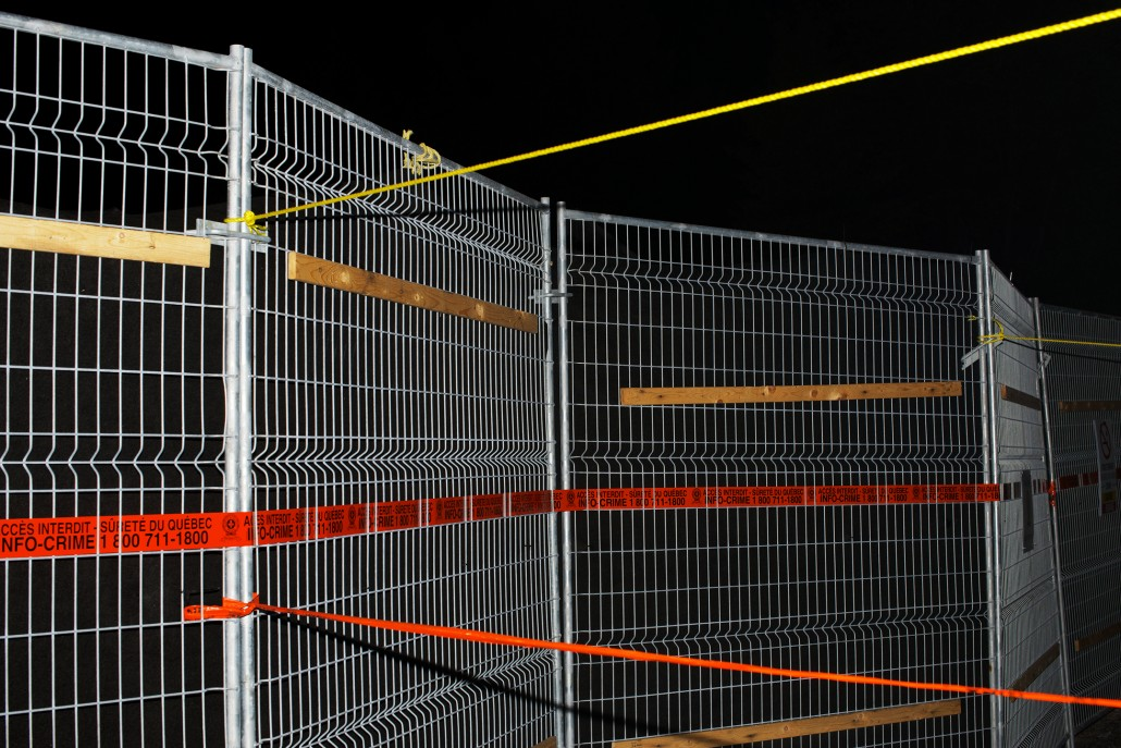 Benoit Aquin - Fence. The exclusion zone