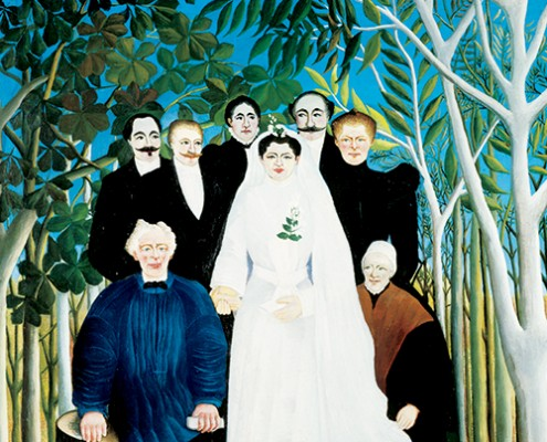Henri Rousseau, The Wedding (detail), 1904–05, oil on canvas. Paris, musée de l'Orangerie