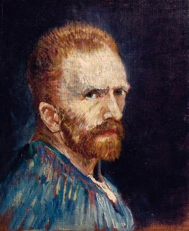 Vincent van Gogh. Autoportrait Vers 1887 Huile sur toile Hartford (Connecticut), Wadsworth Atheneum Museum of Art,. gift of Philip L. Goodwin in memory of his mother, Josephine S. Goodwin