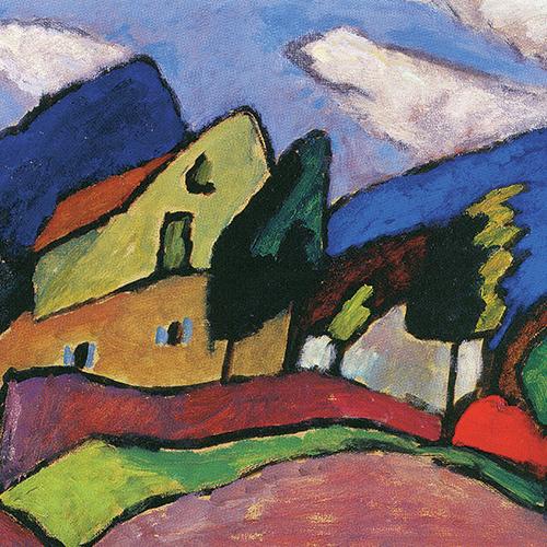 Gabriele Münter « Vent et nuages» 1910