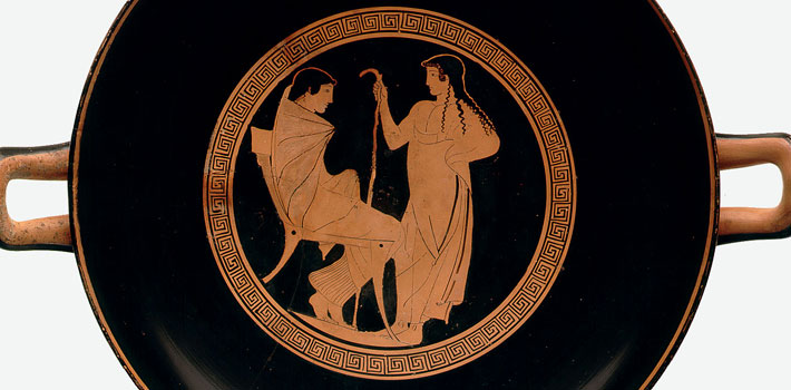 Attica, Greece - Red figure kylix