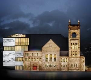 Pavillon Claire et Marc Bourgie - plan