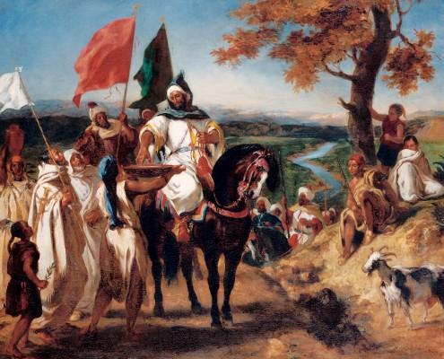 Le Kaïd, chef marocain