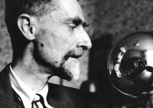 M.C. Escher at work, as remembered by his son George