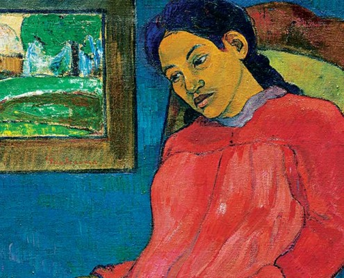 Paul Gauguin, Faaturuma (détail), 1891, huile sur toile. Kansas City (Missouri), The Nelson-Atkins Museum of Art, purchase, William Rockhill Nelson Trust. Photo Jamison Miller