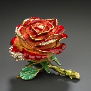 Boîte bijoux Rose