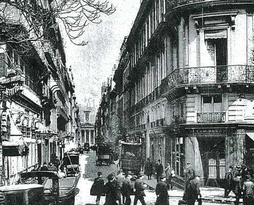 Lafitte street. 1908, Paris