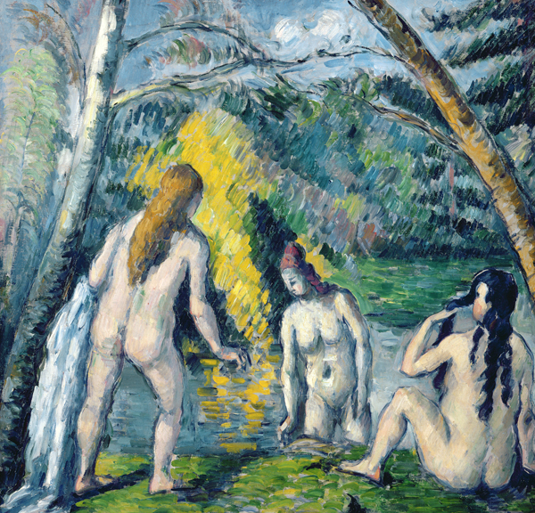 Paul Cézanne, Three Bathers (detail), 1879–82, oil on canvas. Petit Palais, musée des Beaux-Arts de la Ville de Paris